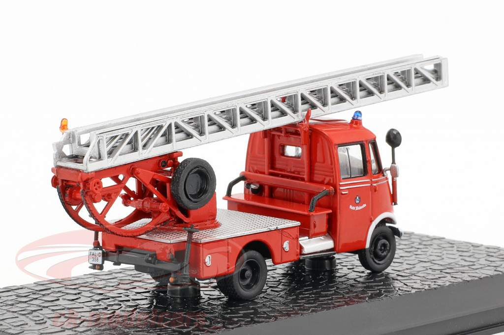 Mercedes-Benz L319 Metz DL18 fire Department 1:72 Altaya