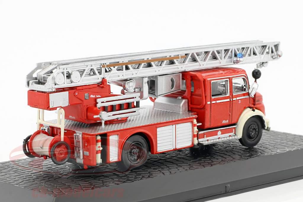 Mercedes-Benz L1519 Metz DLK30 brandvæsen 1:72 Altaya