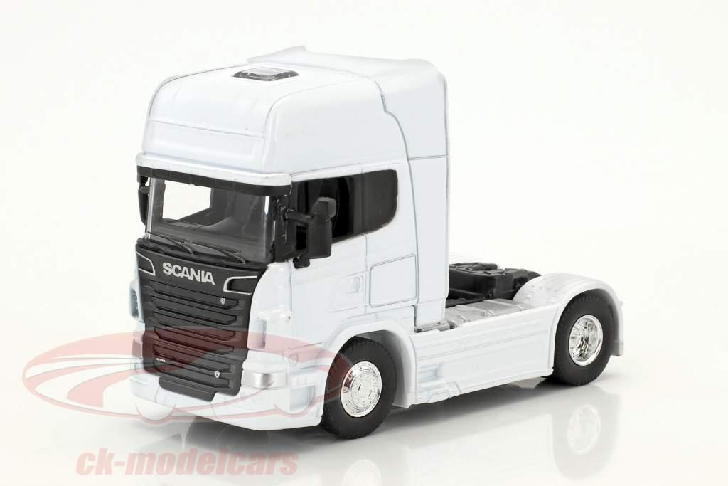 Scania V8 R730 (4x2) blanc 1:64 Welly