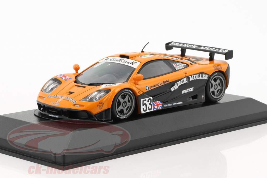 McLaren F1 GTR #53 24h LeMans 1996 Giroix, Deletraz, Sala 1:43 Minichamps Falsche Umverpackung