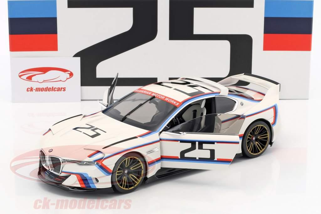 BMW 3.0 CSL Hommage R #25 weiß 1:18 Norev