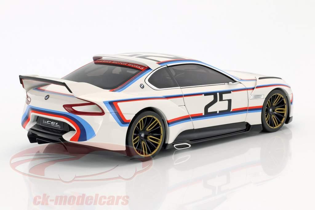 BMW 3.0 CSL Hommage R #25 blanc 1:18 Norev