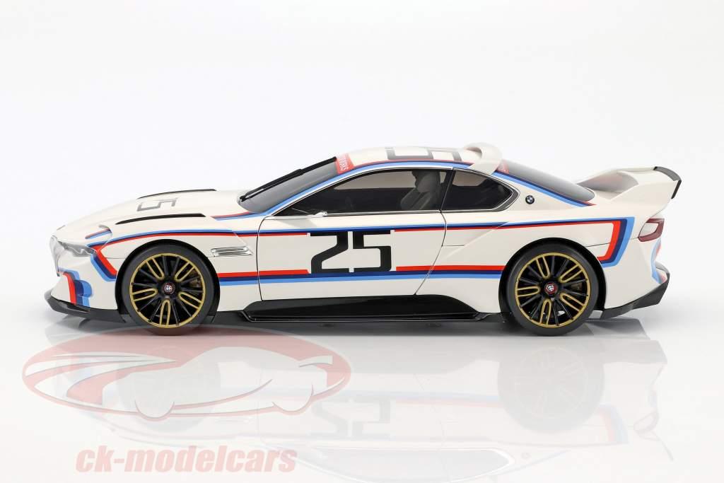 BMW 3.0 CSL Hommage R #25 branco 1:18 Norev