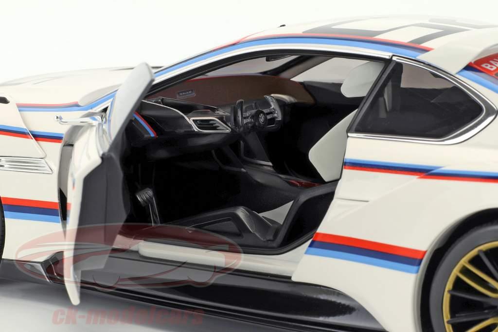 BMW 3.0 CSL Hommage R #25 bianco 1:18 Norev