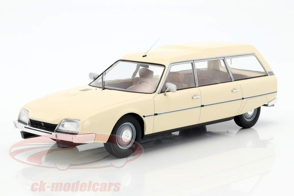 Citroen CX 2500D Super Break série I année de construction 1976 beige 1:18 Model Car Group