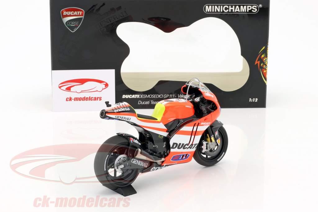 Valentino Rossi Ducati Desmosedici GP11.1 #46 MotoGP 2011 1:12 Minichamps