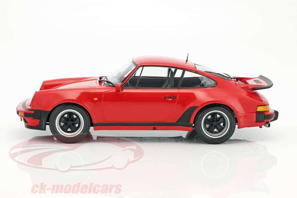 Porsche 911 (930) Turbo year 1977 strawberry red 1:12 Minichamps