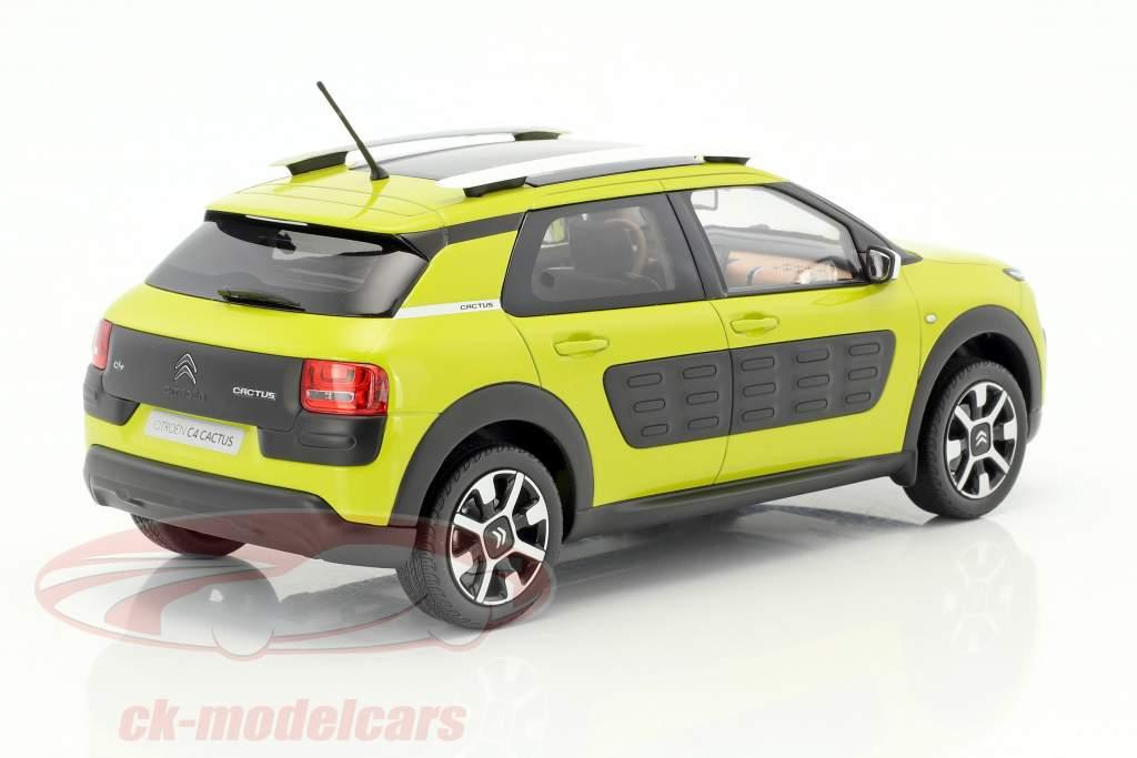 Citroen C4 Cactus year 2014 yellow-green 1:18 Norev