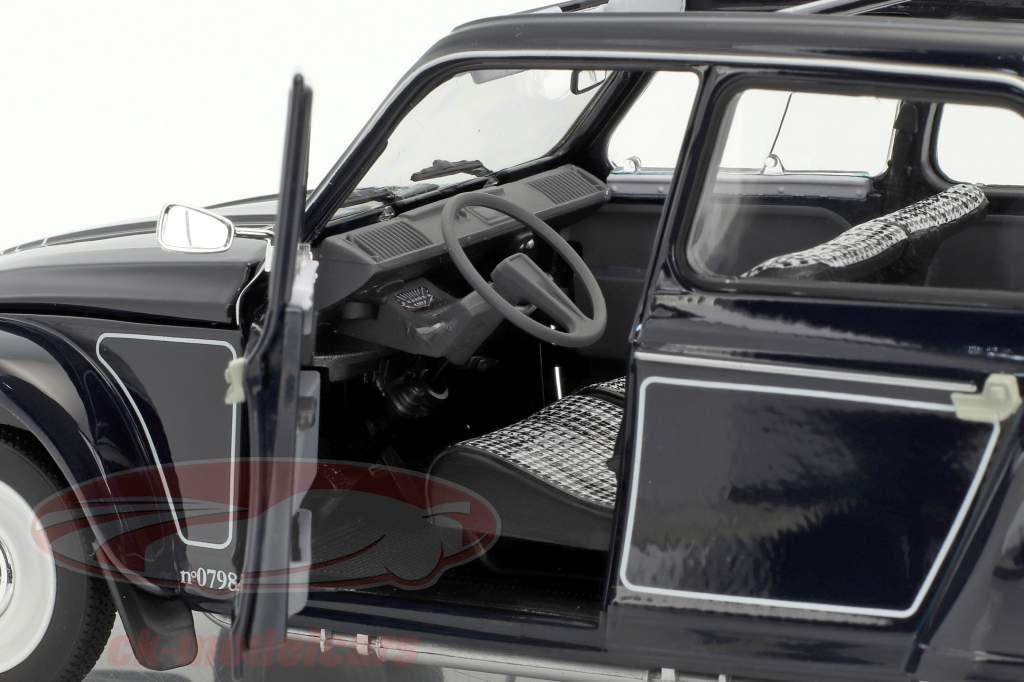 Citroen Dyane 6 Caban avec amovible softtop année de construction 1977 noir 1:18 Norev
