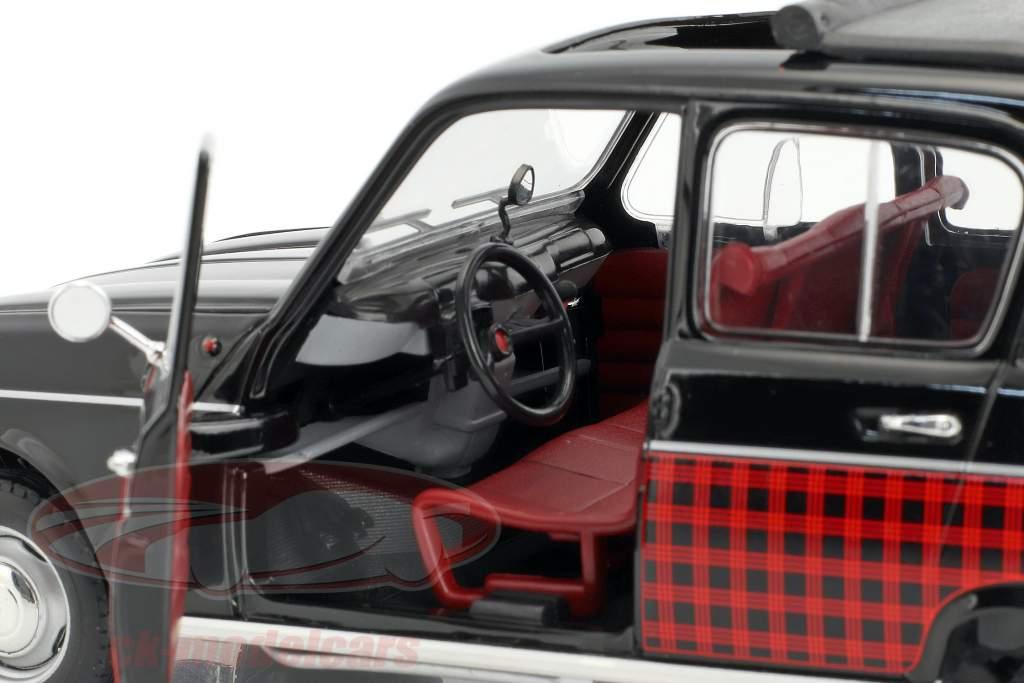 Renault 4 Parisienne anno di costruzione 1964 nero / rosso 1:18 Norev