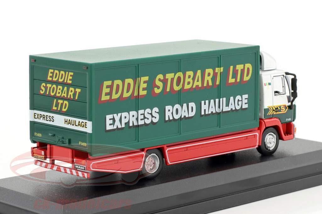 MAN L2000 Box Lorry Valarie Ann F1459 Stobart verde / bianco 1:76 Atlas