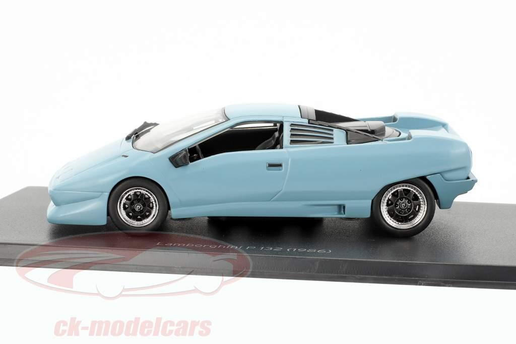 Lamborghini P 132 year 1986 blue 1:43 Leo Models