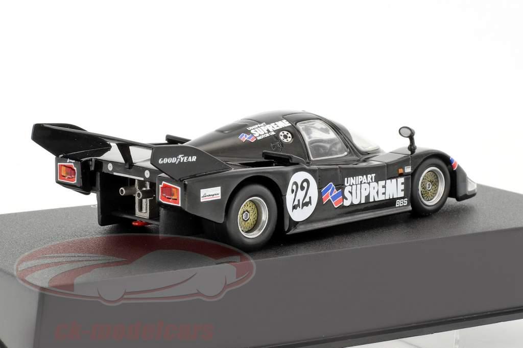 Lamborghini Countach QVX #22 noir 1:43 Leo Models