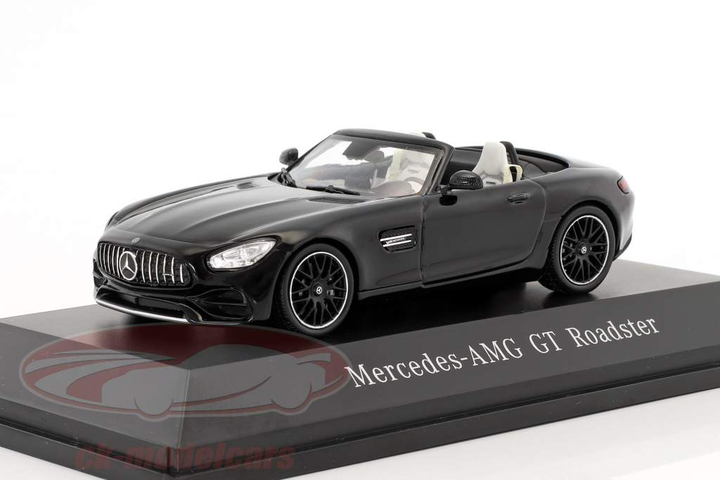Mercedes-Benz AMG GT Roadster year 2017 magnetite black metallic 1:43 Spark