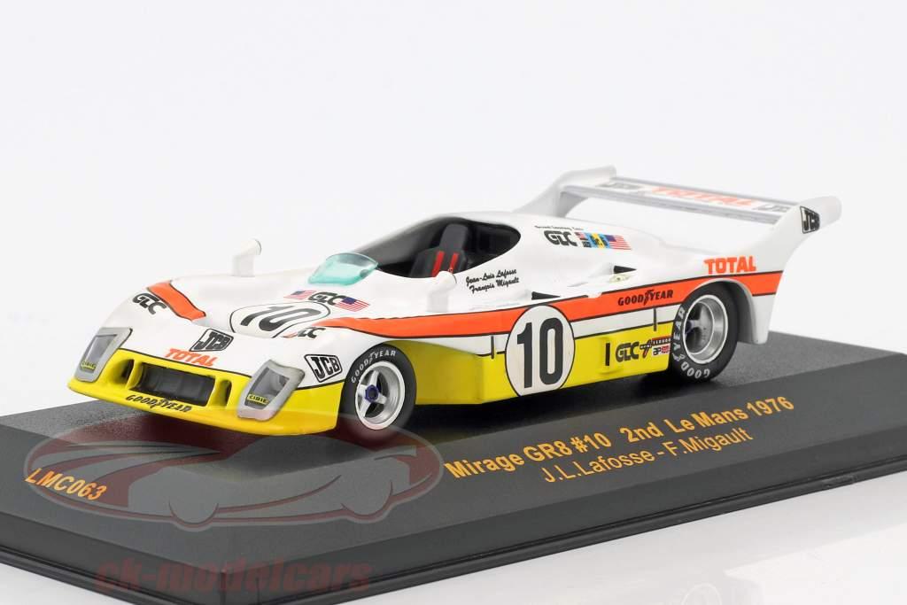 Mirage GR8 #10 2 24h LeMans 1976 Migault, Lafosse 1:43 Ixo