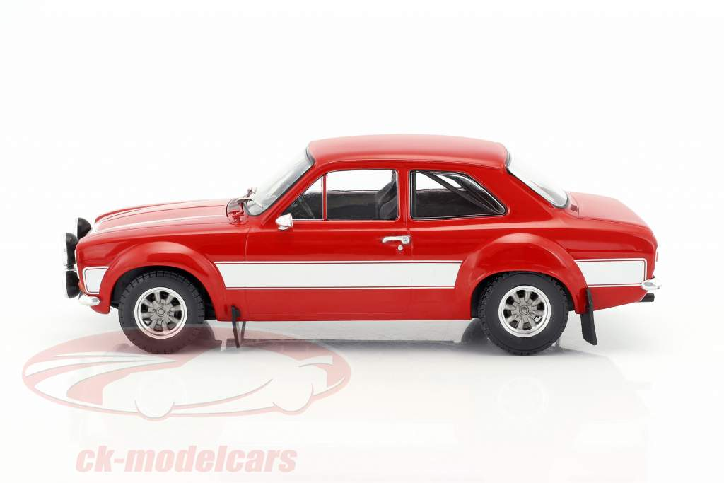 Ford Escort RS 2000 MKI Baujahr 1973 rot / weiß 1:18 Triple9