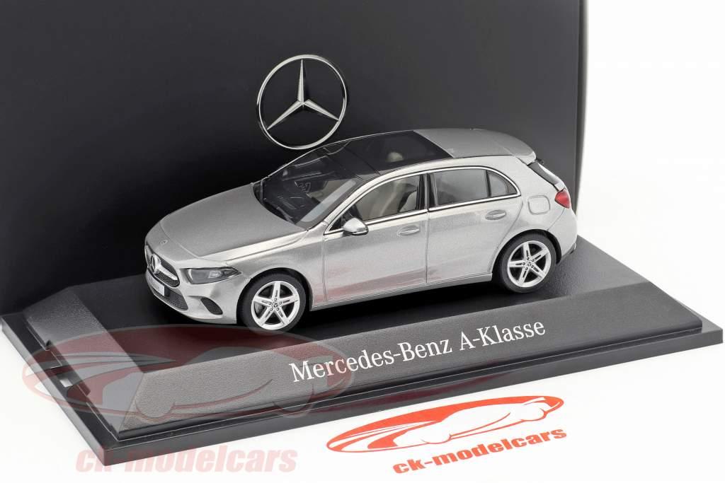 Mercedes-Benz A-Class (W177) mojave silver metallic 1:43 Herpa