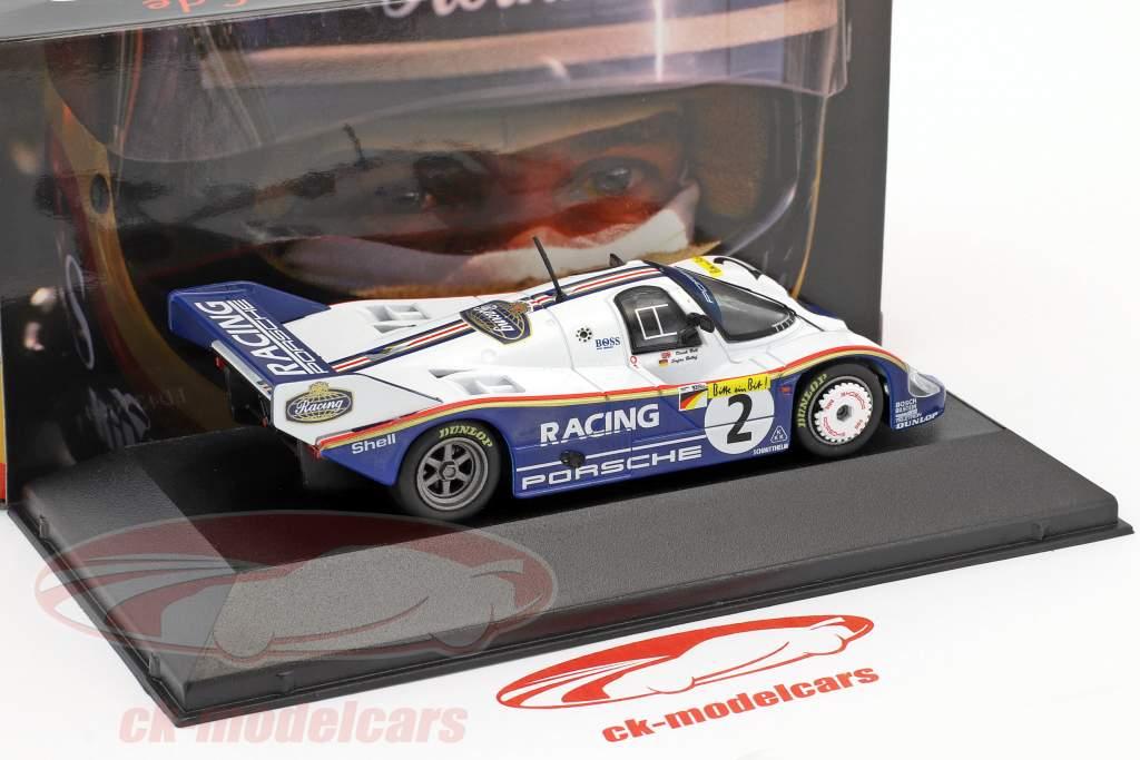 Porsche 956K #2 record du tour Nordschleife 6.11,13 min 1000km Nürburgring 1983 Bellof, Bell 1:43 CMR
