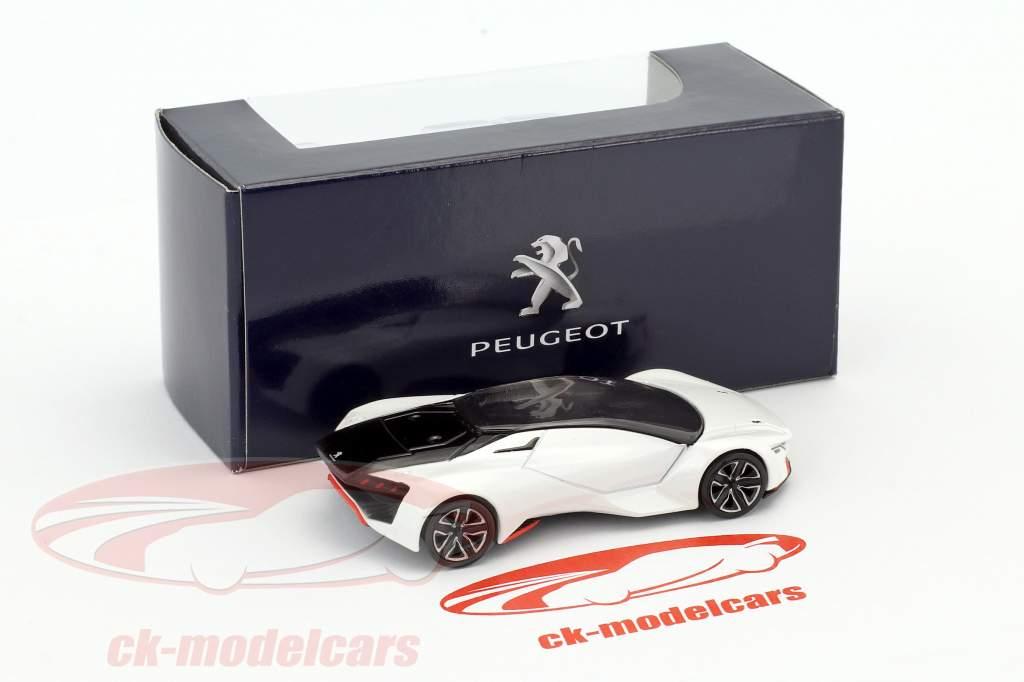 Peugeot Vision GT année de construction 2015 blanc 1:64 Norev