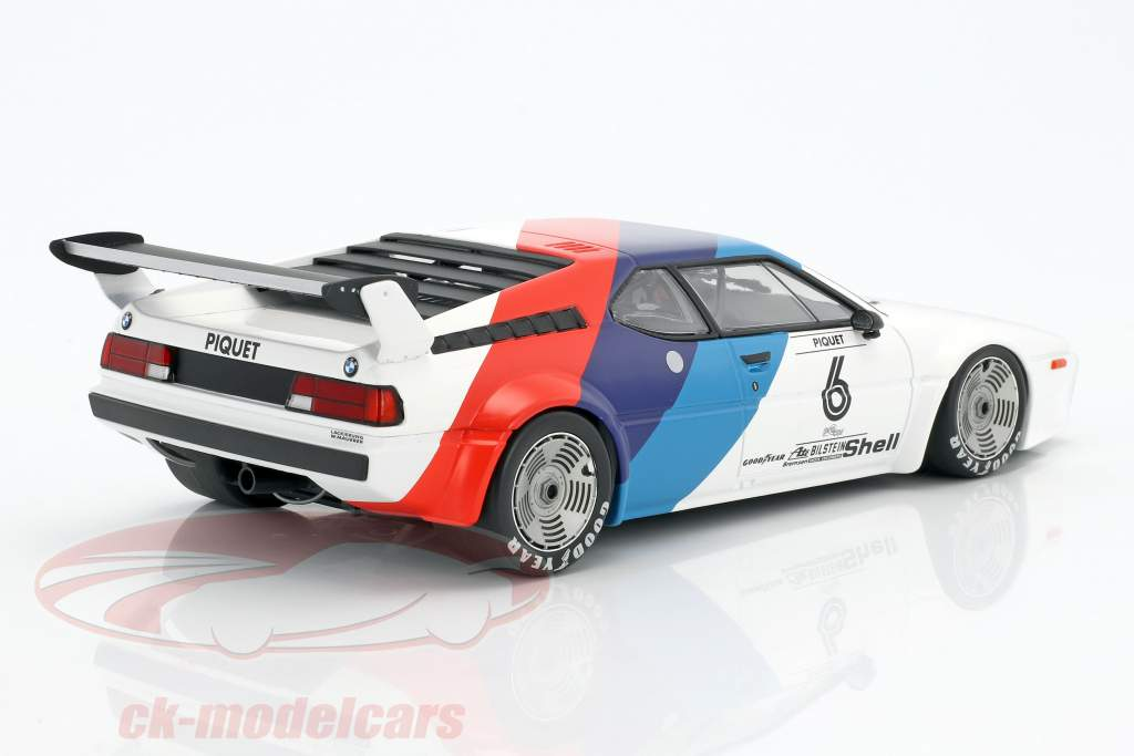 Nelson Piquet BMW M1 Procar #6 M1 Procar serie 1979 1:18 Minichamps