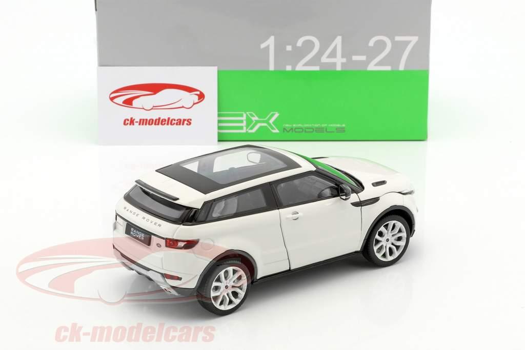 Range Rover Evoque Baujahr 2011 weiß 1:24 Welly