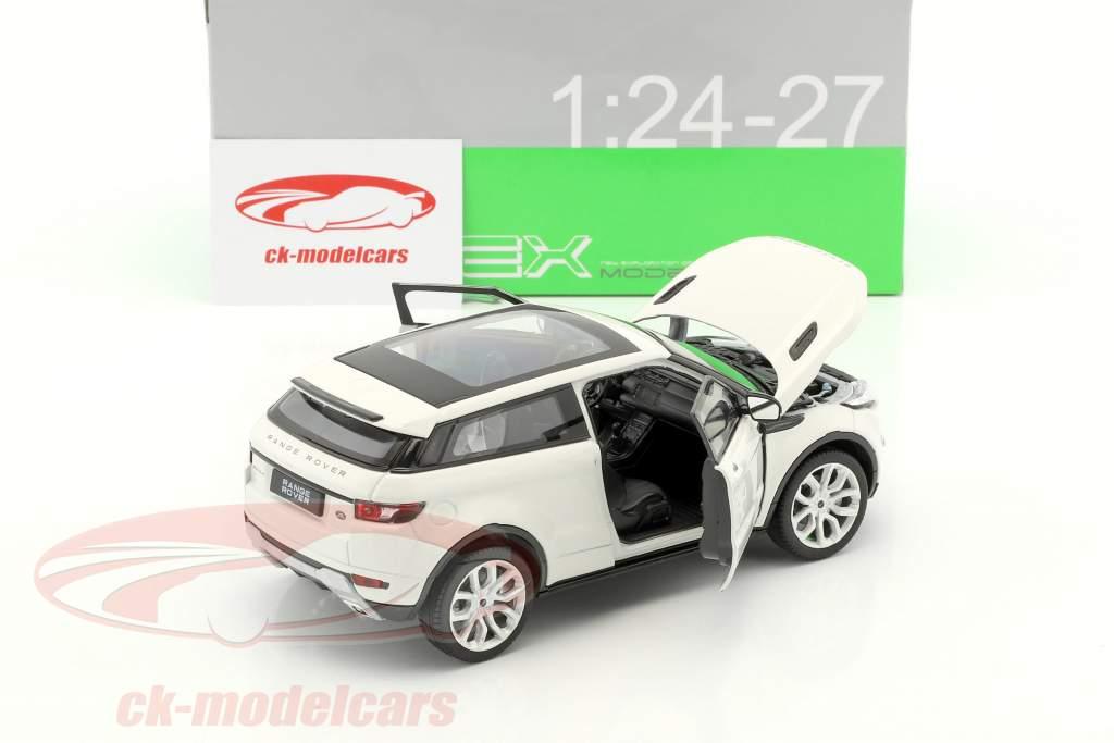 Range Rover Evoque ano de construção 2011 branco 1:24 Welly