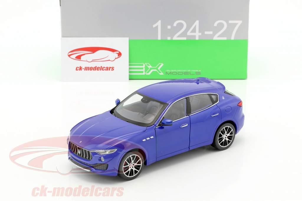 Maserati Levante Opførselsår 2017 blå 1:24 Welly
