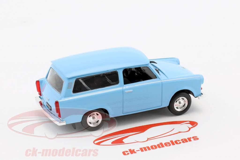 Trabant 601 break Universal bleu clair 1:43 Altaya