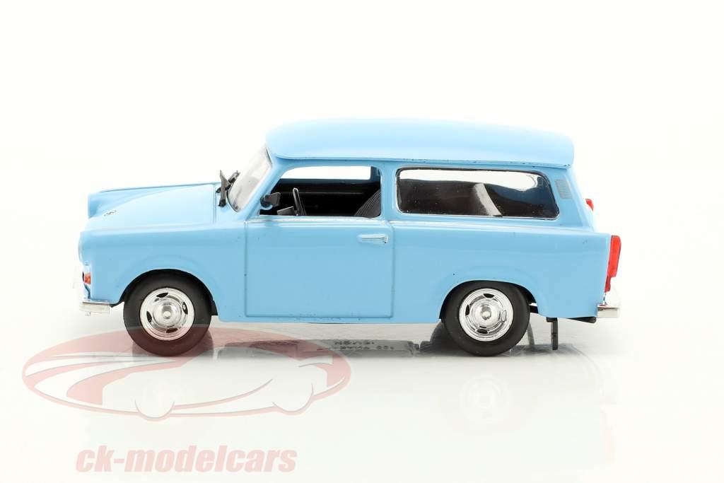 Trabant 601 carro de la estación Universal azul claro 1:43 Altaya