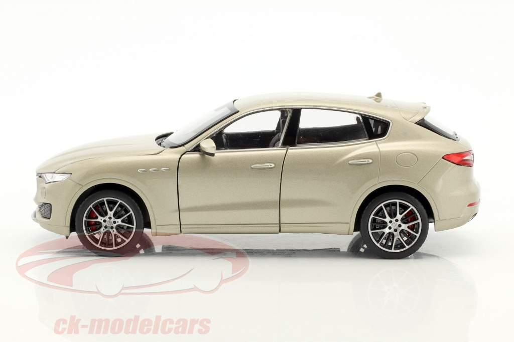Maserati Levante anno di costruzione 2017 oro 1:24 Welly