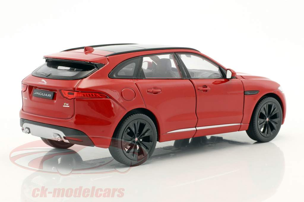 Jaguar F-Pace ano de construção 2016 vermelho 1:24 Welly