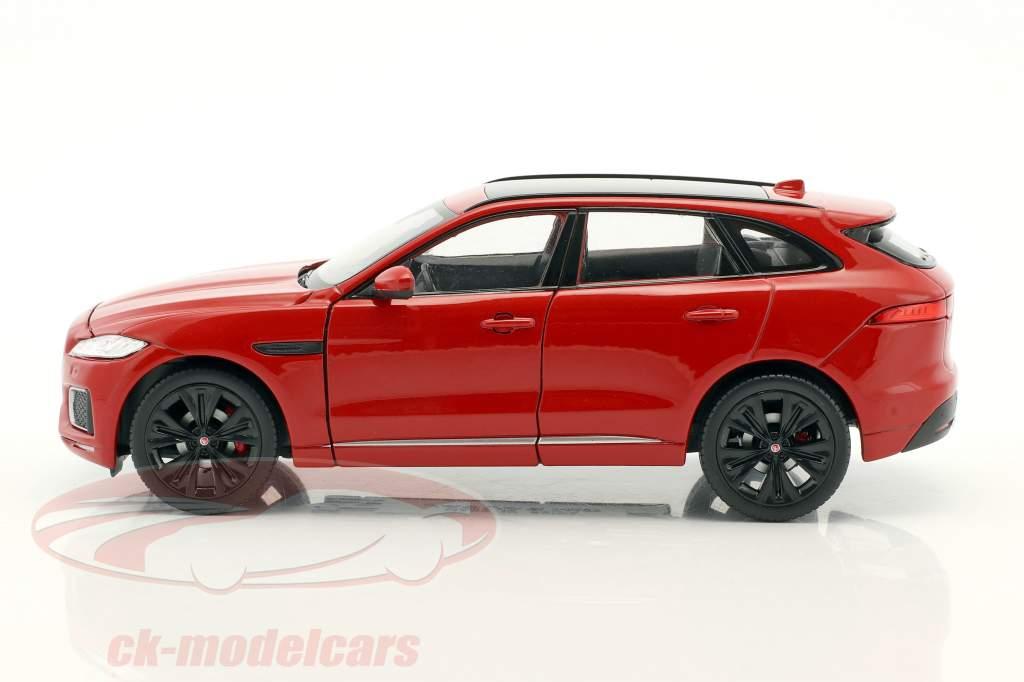Jaguar F-Pace anno di costruzione 2016 rosso 1:24 Welly
