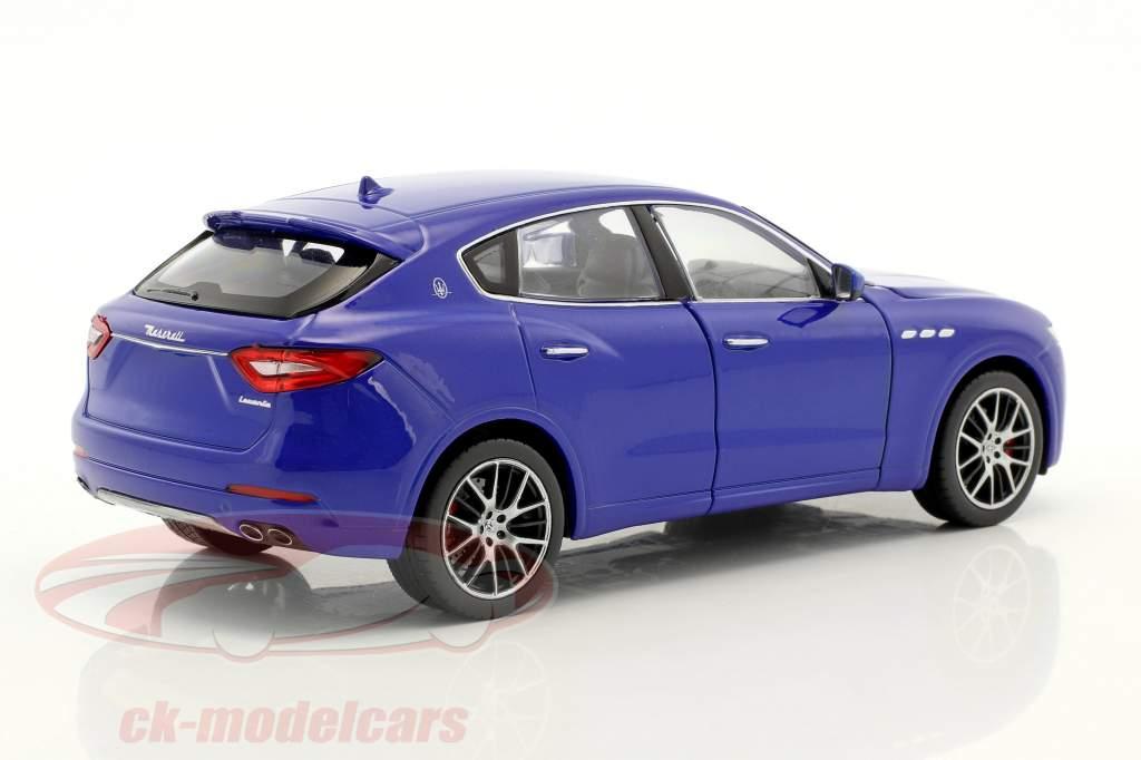 Maserati Levante anno di costruzione 2017 blu 1:24 Welly