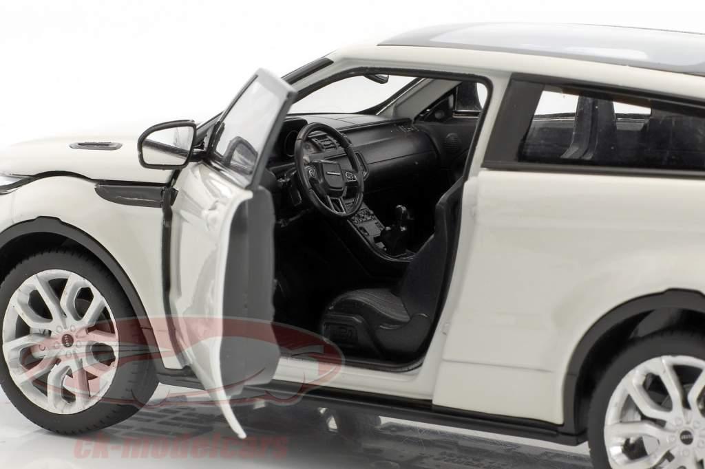 Range Rover Evoque Opførselsår 2011 hvid 1:24 Welly