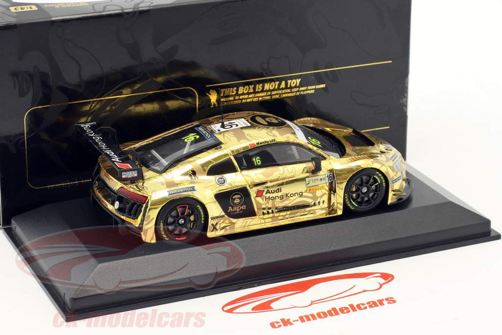 Audi R8 LMS #16 FIA GT World Cup Macau 2016 Lee 1:43 Minichamps