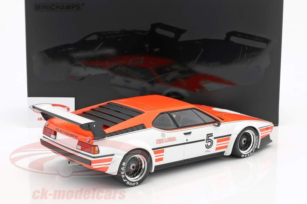 Niki Lauda BMW M1 Procar #5 Winner BMW M1 Procar Series 1979 1:12 Minichamps