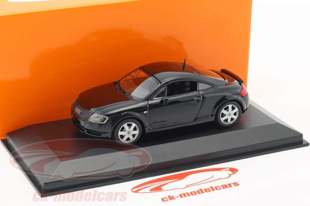 Audi TT coupe año de construcción 1998 negro 1:43 Minichamps