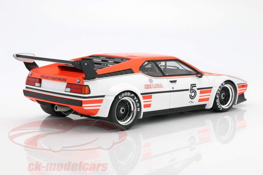 Niki Lauda BMW M1 Procar #5 gagnant BMW M1 Procar Series 1979 1:12 Minichamps