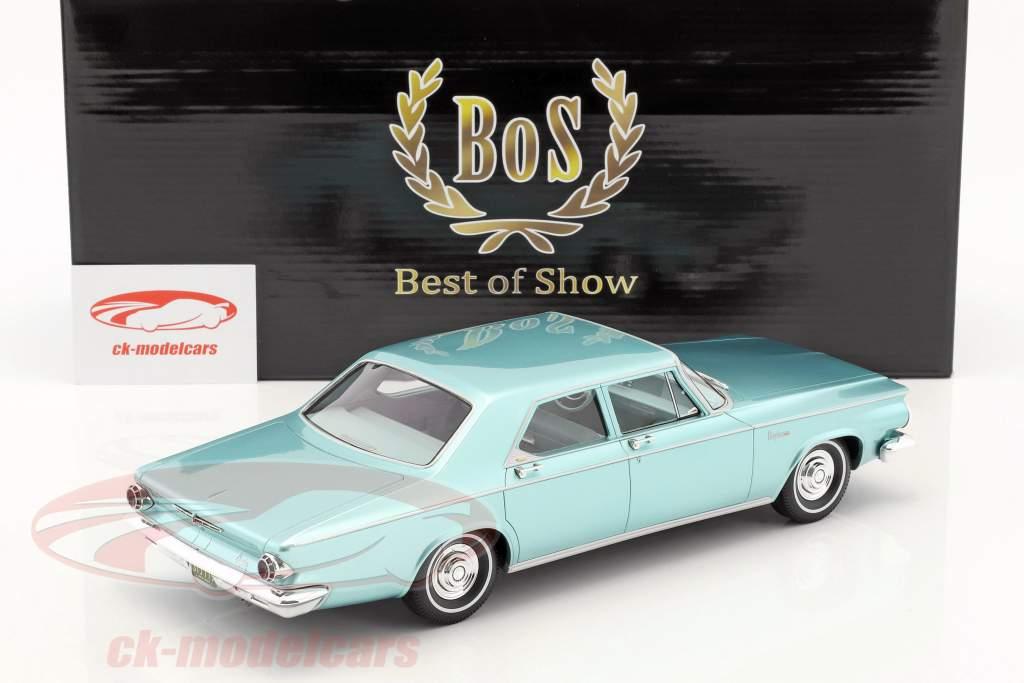 Chrysler Newport 4-Door Sedan year 1963 bright green metallic 1:18 BoS-Models