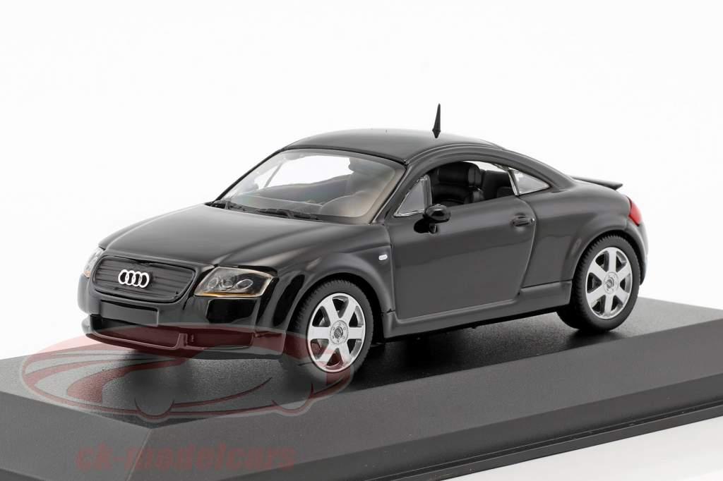 Audi TT coupe Bouwjaar 1998 zwart 1:43 Minichamps