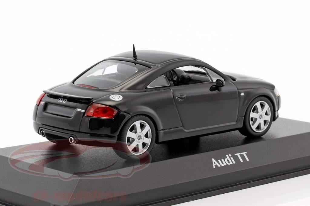 Audi TT Coupe Baujahr 1998 schwarz 1:43 Minichamps