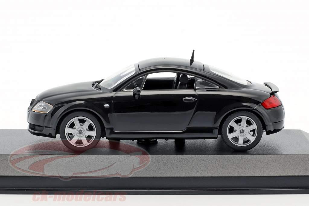 Audi TT coupe anno di costruzione 1998 nero 1:43 Minichamps