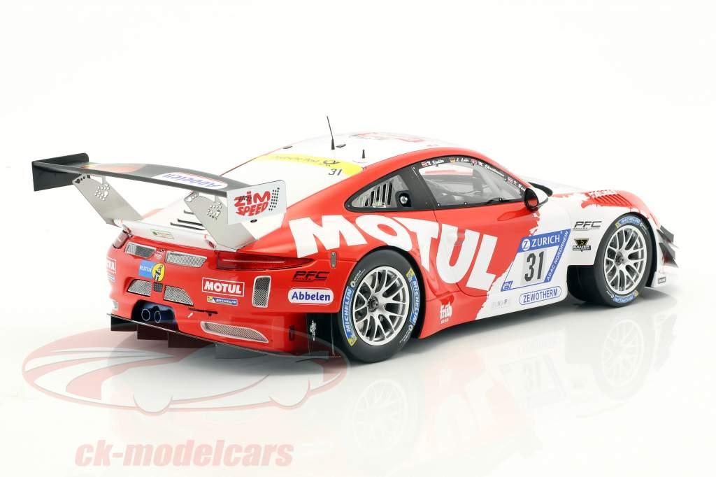 Porsche 911 GT3 R #31 6 ° 24h Nürburgring 2017 Frikadelli Racing Team 1:18 Spark