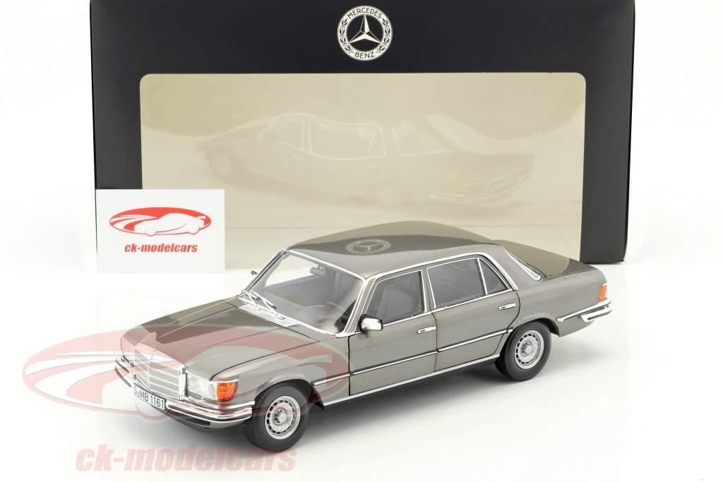 Mercedes-Benz 450 SEL 6.9 (W116) année de construction 1976-1980 anthracite gris métallique 1:18 Norev
