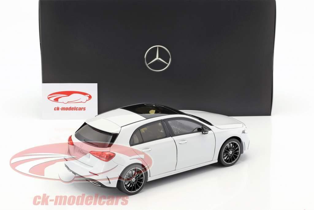 Mercedes-Benz A-Class (W177) year 2018 digital white metallic 1:18 Norev