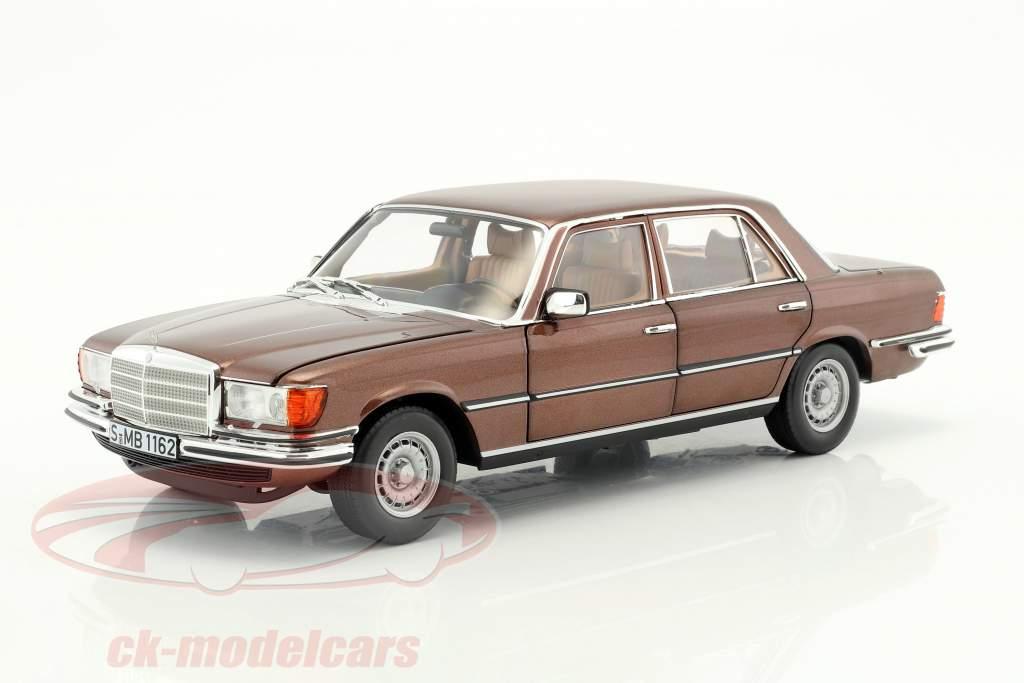 Mercedes-Benz 450 SEL 6.9 (W116) year 1976-1980 milan brown metallic 1:18 Norev
