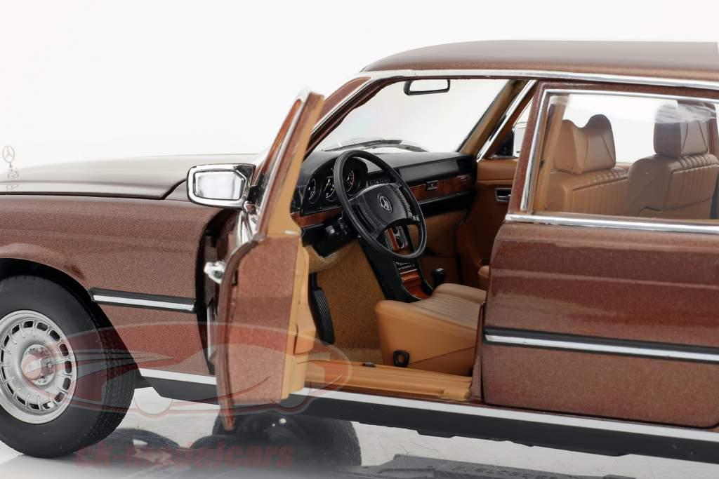 Mercedes-Benz 450 SEL 6.9 (W116) Baujahr 1976-1980 milanbraun metallic 1:18 Norev