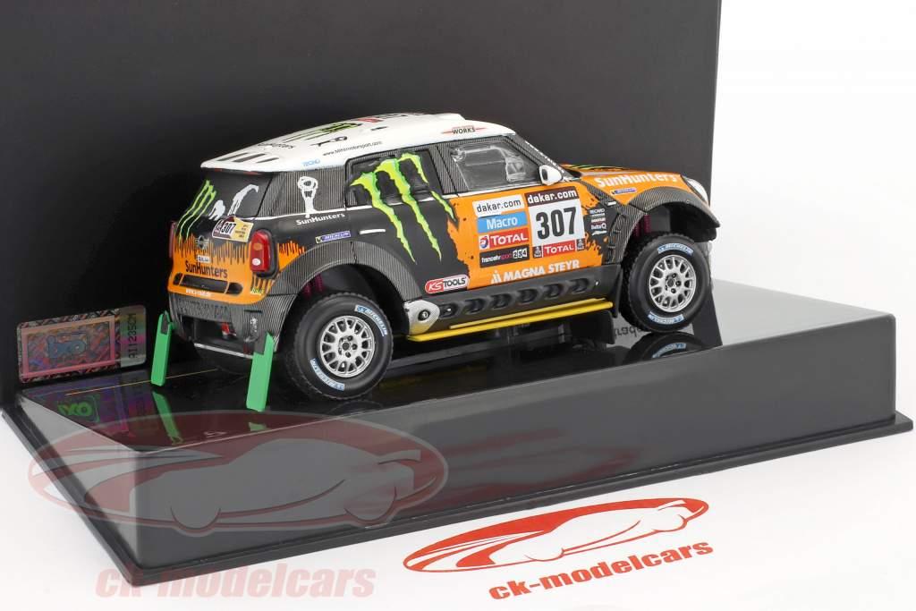 Mini All4 Racing #307 3e Rallye Dakar 2013 Novitsky, Zhiltsov 1:43 Ixo
