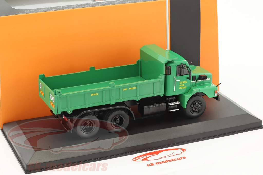 Volvo N10 Dump Truck SCREG year 1980 green 1:43 Ixo