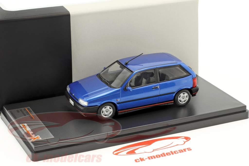 Fiat Tipo 2.0ie 16V Sedicivalvole Baujahr 1995 blau 1:43 Premium X